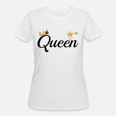 King And Queen Clothing King & Queen Couples Matching Shirts - Women's 50/50 T-Shirt