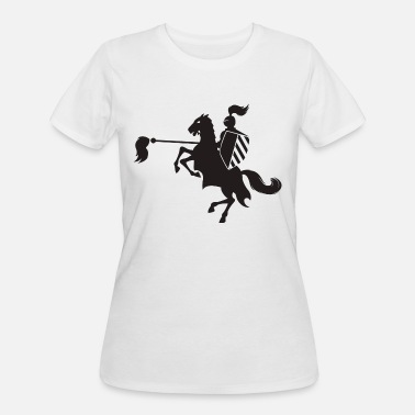 With Full Force armed forces armed with brooms - Women's 50/50 T-Shirt