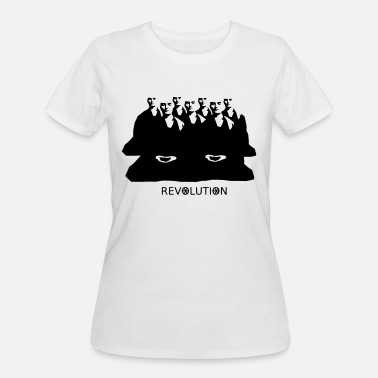 Burma Monks protesting - Women's 50/50 T-Shirt