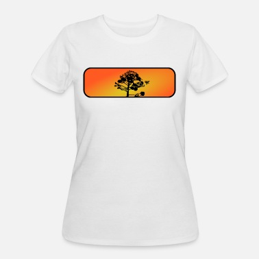 Nectar Bee collecting nectar - Women's 50/50 T-Shirt
