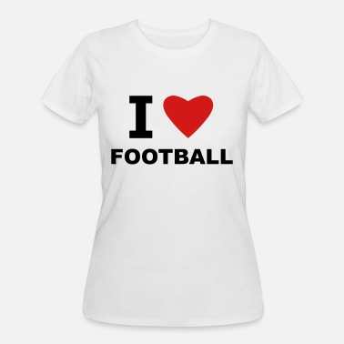I Love Football I love Football - Women's 50/50 T-Shirt