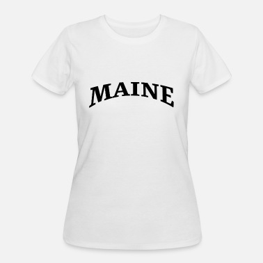 United States Maine - USA - US State - United States of America - Women's 50/50 T-Shirt