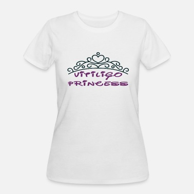 Vitiligo VITILIGO PRINCESS - Women's 50/50 T-Shirt
