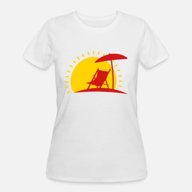 Sun Bathing sun bathing - Women's 50/50 T-Shirt