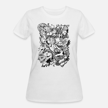 Abstract Shapes Abstract shape - Women's 50/50 T-Shirt