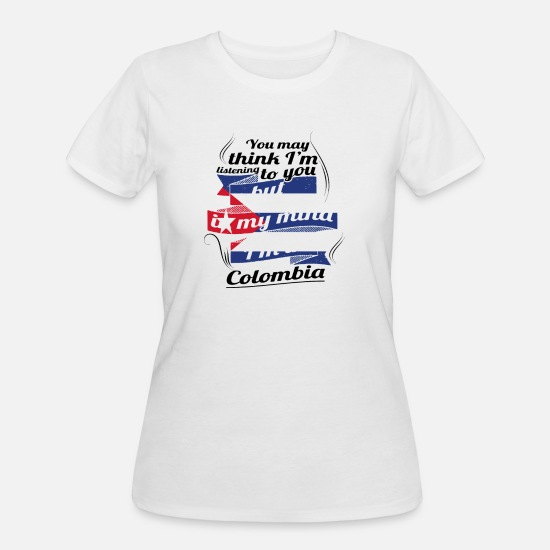 Travel T-Shirts - URLAUB KUBA KUBANER TRAVEL I M IN Cuba Colombia - Women's 50/50 T-Shirt white