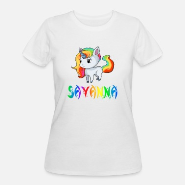 Savanna Savanna Unicorn - Women's 50/50 T-Shirt