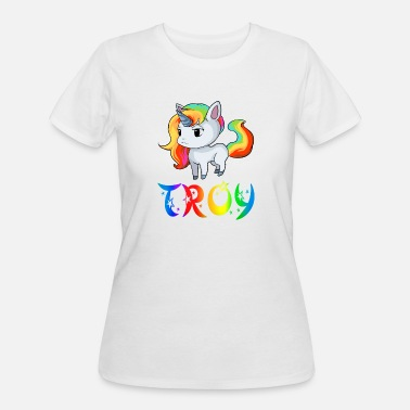 Troy Troy Unicorn - Women's 50/50 T-Shirt