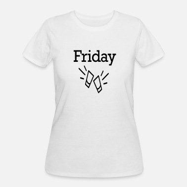 53 Funny Friday Party Funny Weekend 53 - Women's 50/50 T-Shirt