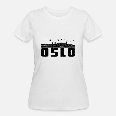 Norwegians Oslo Oslo - Women's 50/50 T-Shirt