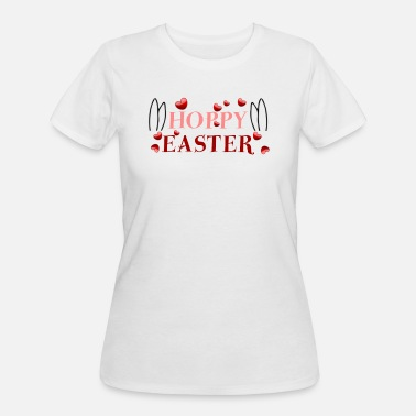 Happy Easter Hoppy Easter - Women's 50/50 T-Shirt