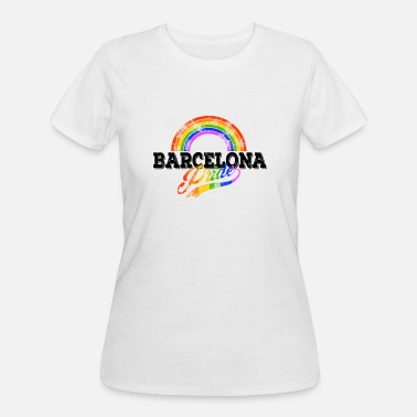 LGBT Barcelona Gay Pride CSD Queer Rainbow Spain - Women's 50/50 T-Shirt
