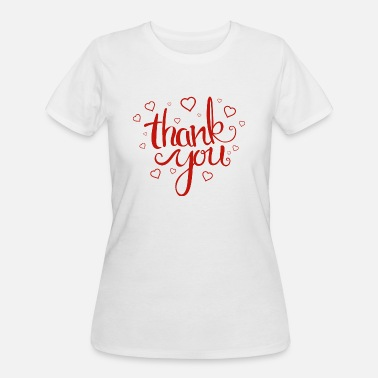 Thank You Thank You - Women's 50/50 T-Shirt