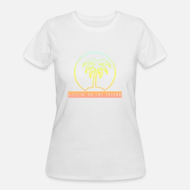 Stylin Stylin On The Island PNG - Women's 50/50 T-Shirt