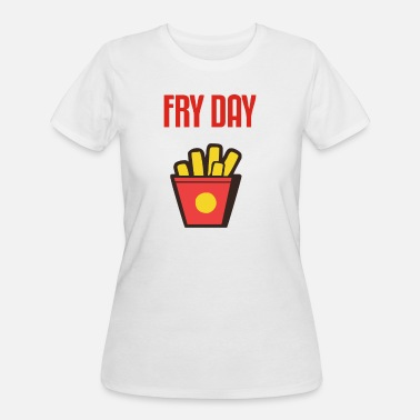 Fry-day Fry day Funny - Women's 50/50 T-Shirt
