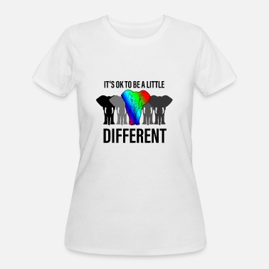 Different Its ok to be different - Women's 50/50 T-Shirt