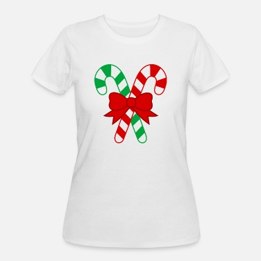 Candy Cane Candy cane - Women's 50/50 T-Shirt