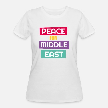 Middle East Peace For Middle East - Women's 50/50 T-Shirt