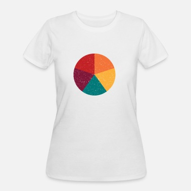 Colorful Circles Color Circle - Women's 50/50 T-Shirt