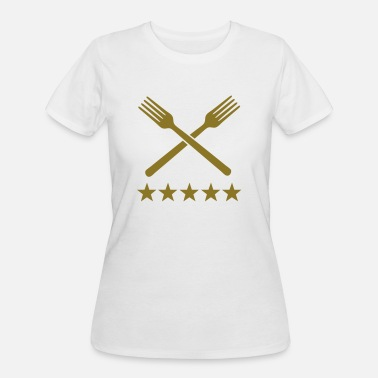 food deluxe forks - Women's 50/50 T-Shirt