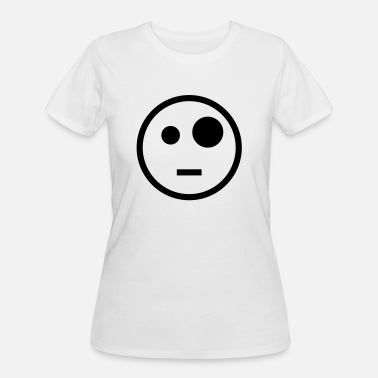 Pop-eyed Smile - Women's 50/50 T-Shirt