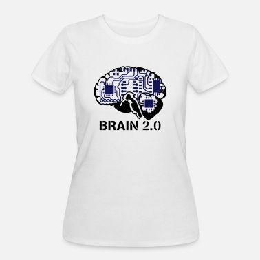 Cyborg brain 2.0 - Women's 50/50 T-Shirt