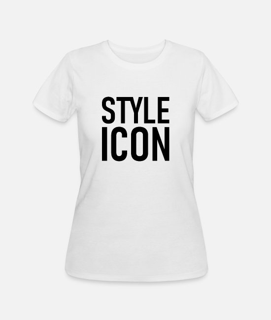 Mode T-Shirts - Style Icon - Logo - Styler - Chic - Mode - Geek - Women's 50/50 T-Shirt white
