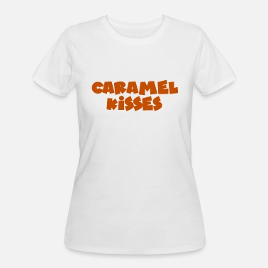 Caramel CARAMEL KISSES - Women's 50/50 T-Shirt
