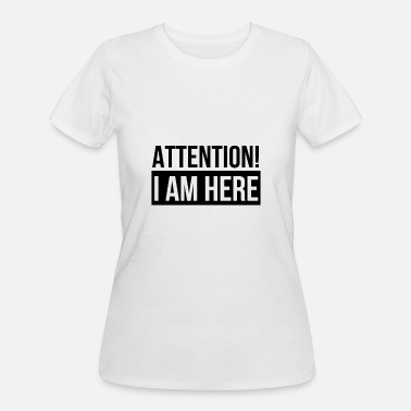 d265bf69d Attention Sarcasm Attention! - Women's 50/50 T-Shirt. Women's ...