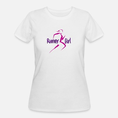 Girl Runner Runner Girl - Women's 50/50 T-Shirt