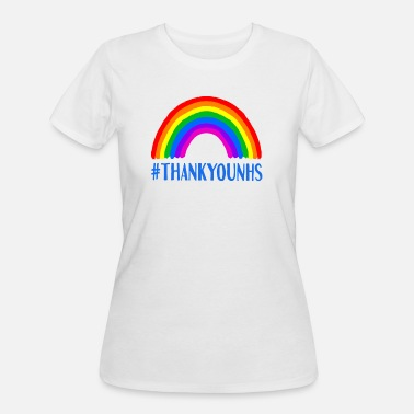 Thank You Rainbow Support - Women's 50/50 T-Shirt