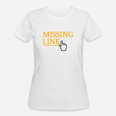 Link missing link - Women's 50/50 T-Shirt