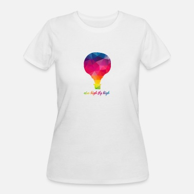 Air Cooled cool hot air balloon Design - Women's 50/50 T-Shirt