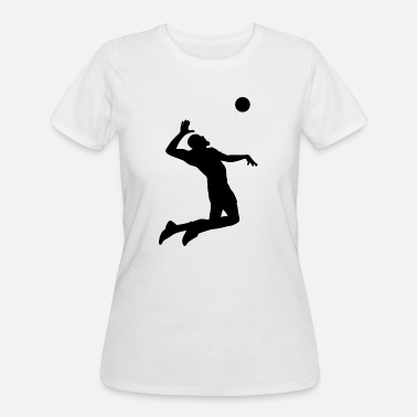 Beach Sports Beach Volleyball Player Sports - Women's 50/50 T-Shirt