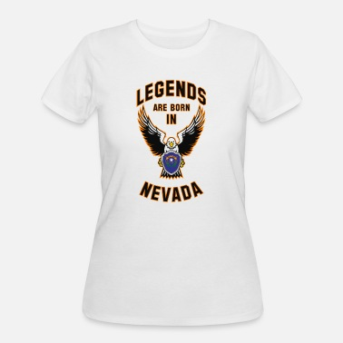 State Legends are born in Nevada - Women's 50/50 T-Shirt