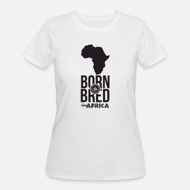Trend Born and Bred in Africa - Women's 50/50 T-Shirt