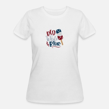 Red White And Blue Red White and Blue - Women's 50/50 T-Shirt
