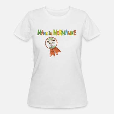 Normandy Cow Made in Normandie - Women's 50/50 T-Shirt