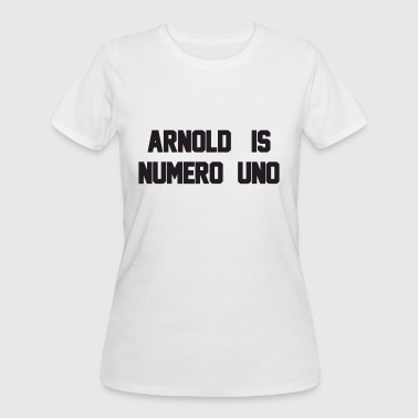 Arnold Is Numero Uno Mens Ringer Retro Birthday T - Women's 50/50 T-Shirt