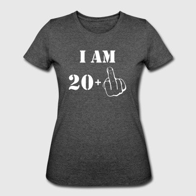 21st Birthday T Shirt 20 + 1 Made in 1996 - Women's 50/50 T-Shirt