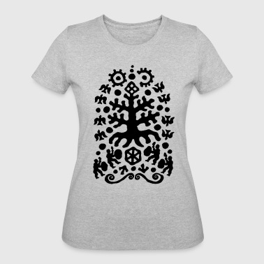 Hermetic Shamans Tree by Qenjo - Women's 50/50 T-Shirt