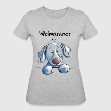 Funny Weimaraner - Dog - Dogs - Gift - Women's 50/50 T-Shirt