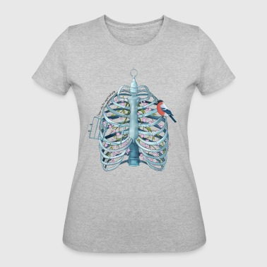 Cystic Fibrosis I know why the caged bird sings - Women's 50/50 T-Shirt