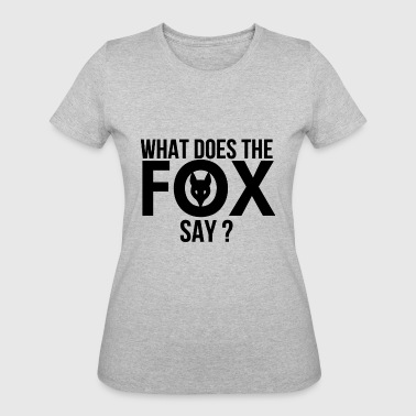 What Does Fox Say What does the Fox say - Women's 50/50 T-Shirt