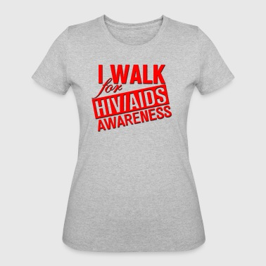 AIDS Awareness - Women's 50/50 T-Shirt