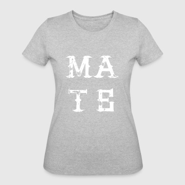MATE SOUL bestie best friend love partner - Women's 50/50 T-Shirt
