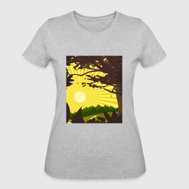 nature - Women's 50/50 T-Shirt