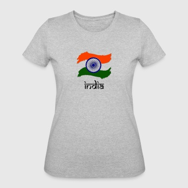 Indian Flag - Women's 50/50 T-Shirt