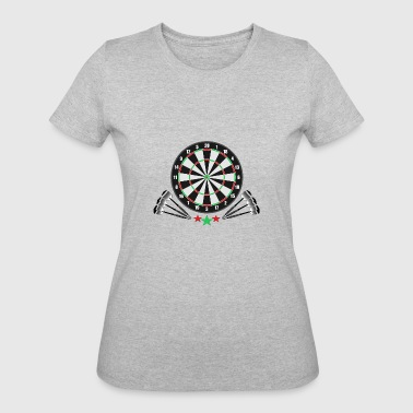 Arrow Dartboard Darts Arrows Sport Pub Club Dartboard bullseye - Women's 50/50 T-Shirt
