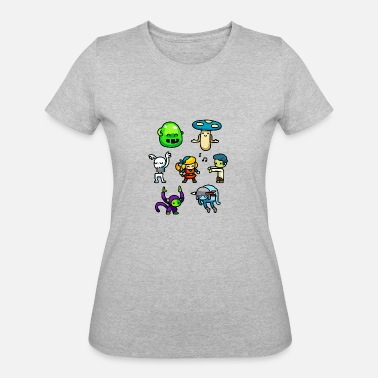 Creepy Dance Crypt Dance Party Creepy Cute Sweet Attractive - Women's 50/50 T-Shirt